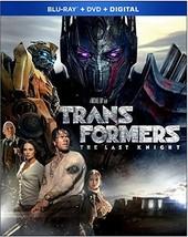 Transformers: The Last Knight (2017) [Blu-ray + DVD]