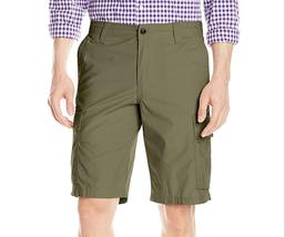 $50 Dockers Men's Cargo Flat-Front Short, Olive, Size 33. - $24.74