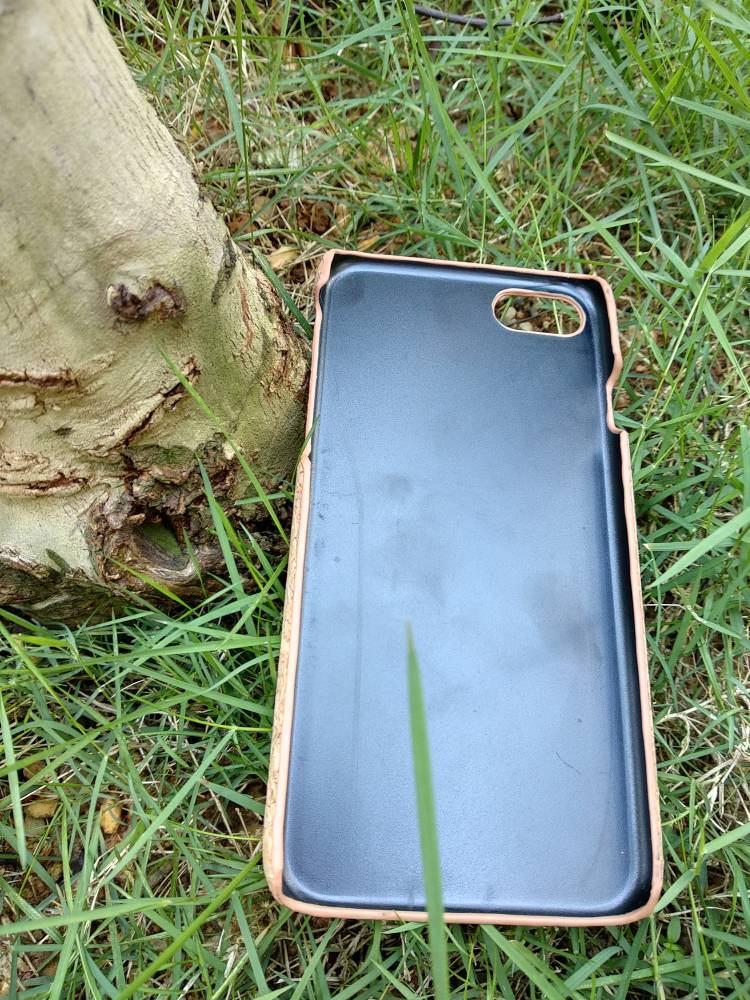 EcoQuote iPhone 7 / 8 Handmade Eco Friendly Phone Case Cork Finishing for Vegan