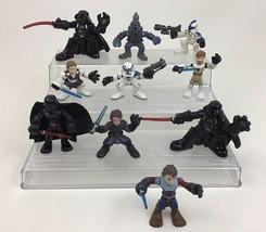Star Wars Galactic Heroes Darth Vader Lot Obi-Wan Kenobi 10 Toy Figure H... - $22.72