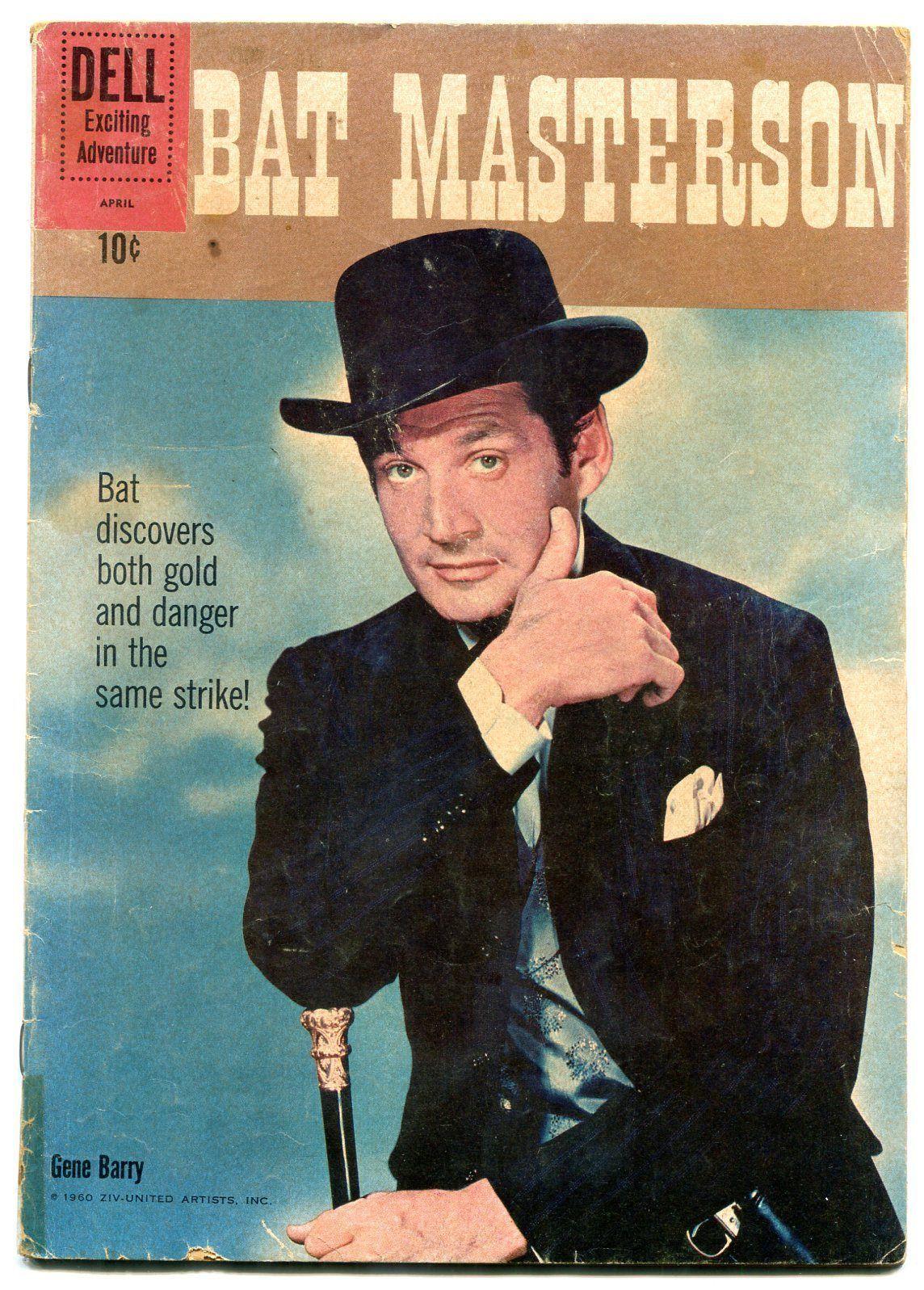 Bat Masterson #6 1961- Dell Western- Gene Barry G - $24.83