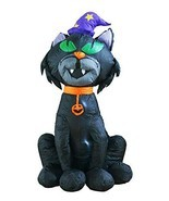 4Ft Inflatable Halloween Black Cat Decoration Inflatables for Home Yard ... - £29.01 GBP
