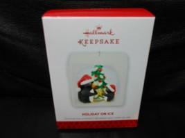 """Hallmark Keepsake """"Holiday On Ice"""" 2013 Ornament NEW - $4.85"""