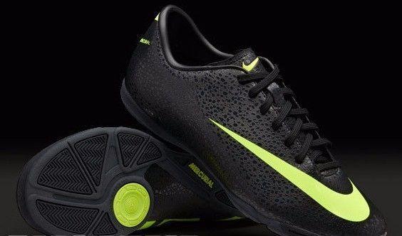 Kid's nike jr mercurial victory v cr ic sport shoes black