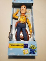 "Disney Parks Collectors Talking Woody Toy Story Pull String 16"" Figure D... - $64.89"