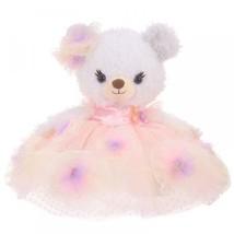 Disney Store Unibearsity Plush toy doll Costume Pastel Flower PinkDress ... - $173.25