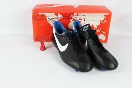 Vintage 80s Nuevo Nike Hombre 11 Mirage M Fútbol Tacos Zapatos Botas Negro - $147.29