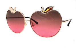 MARKUS LUPFER x LINDA FARROW Women's Sunglasses ML/12/3 APPLE Gold JAPAN... - $165.00