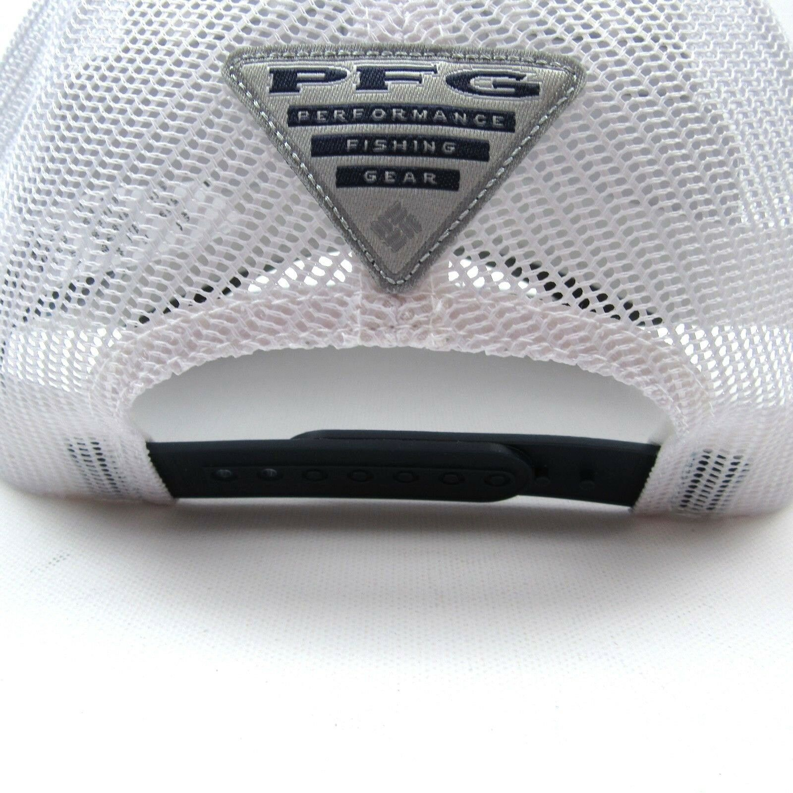 Columbia Sportswear PFG Bonehead Mesh Trucker Hat Cap Blue White One Size New