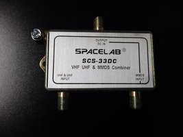 MMDS Combiner SCS-33DC by SPACELAB - $3.99