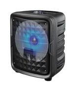 Supersonic IQ-6608DJBT- Black 8-Inch Bluetooth Speaker with True Wireless Techn - $54.88