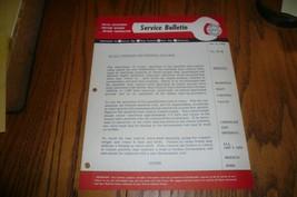 MOPAR 1 Chrysler Imperial Service Tech Bulletin Exhaust #58-26 - $7.84