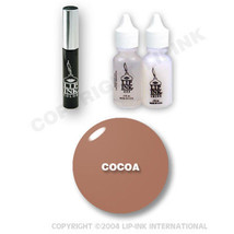 LIP INK Organic  Smearproof Special Edition Lip Kit - Cocoa - $49.90