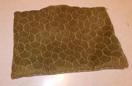 Green Stripe Print Decorative Print Throw Pillow  12 x 8 - $14.95