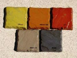 920-01 Black Concrete Cement Powder Color 1 lb. Makes Stone Pavers Tiles Bricks  image 4