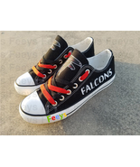 Atlanta falcons shoes falcons sneakers super bowl fashion birthday gift ... - $55.00+