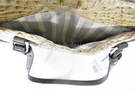 NWT  Brahmin Medium Lena Leather Tote/Shoulder Bag in Travertine Vermeer image 11