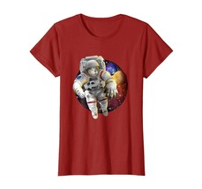 New Shirts - New Astronaut Space and Planets TShirt eyes Wowen - $19.95+