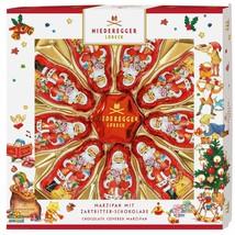 Niederegger Santa Stars Christmas marzipan chocolates 125g -FREE SHIPPING- - $18.80