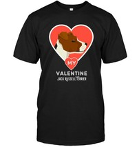 Jack Russell Terrier Shirt for Valentines Day Dog Lover Tee - $17.99+