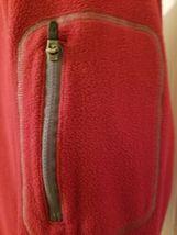Under Armour Red Fleece Jacket Half Zip Long Sleeve Mens Size XL Extra Large UA  image 4