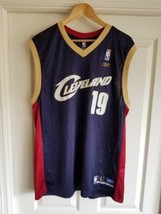 REEBOK CLEVELAND CAVALIERS DAMON JONES #19 NBA BASKETBALL JERSEY ADULT L... - €21,65 EUR