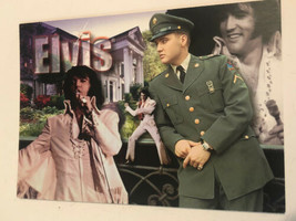 Elvis Presley Postcard Elvis Four Images In One - $3.46