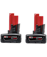 Milwaukee Power Tool Battey Pack 6.0Ah 12V Lithium-Ion Extended Capacity... - $207.90