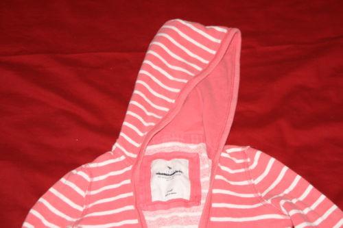 Abercrombie Hoodie Pullover Cardigan Stripped Sz S Adirondack Heritage