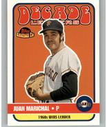 2001 Topps American Pie Decade Leaders #DL10 Juan Marichal  San Francisc... - $0.99