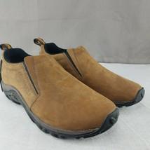 Mens Merrell Jungle Moc Nubuck Slip On 7.5M Ortho Lite Air Cushioned shoes - $60.78