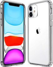 iPhone 11 Hybrid Acrylic Hard Clear Cell Phone Case  - $10.99