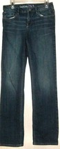 GIRLS BLUE DISTRESS JEAN SIZE 12 REGULAR GAP - $5.00