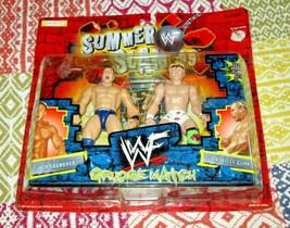 Ken Shamrock Billy Gunn 1999 Summer Slam WWE Dolls In Package - $15.76