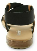 Kensie Womens Brianna Black Open Toe Strap Sandals New in Box image 3