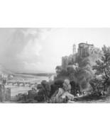 ITALY Ventimiglia Vintimiglia  - 1864 Fine Quality Print Engraving - $30.60