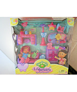 Cabbage Patch Kids Doll Lil Sprouts SLEEP OVER FURNITURE PLAY SET 26 pie... - $21.95