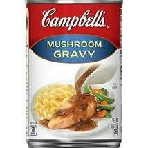 Mushroom Gravy Sauce , 10.5 oz. Can Campbells Mushoom Gravy - $5.98