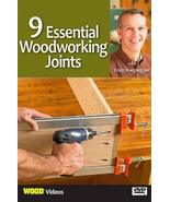 9 Essential Woodworking Joints with Craig Ruegsegger [DVD] - $17.99