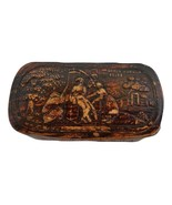 Antique German Birch Bark Snuff Box GUTEN MORGEN FRITZ - $193.05