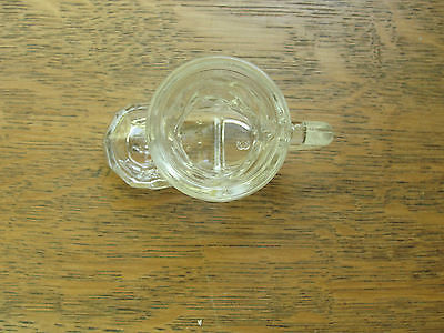 Kosial, made in Germany, glass toothpick holder, shaped like boot with handle