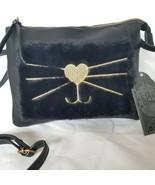 Crossbody Bag Purse Black Cat Kitten  Your Vibe - $29.69