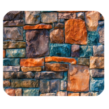 Mouse Pad Stone Cute Funny Abstract Stones In Beautiful Design Game Fantasy - $6.00