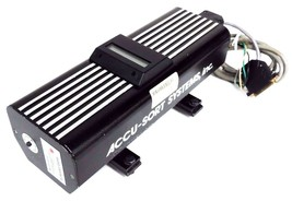 ACCU-SORT SYSTEMS MODEL 45L LASER BARCODE SCANNER 120VAC