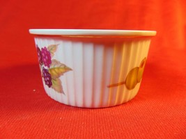 "3 1/4"" Ramekin #4 (gold trim off edge), Royal Worcester, Evesham Pattern. - $3.99"
