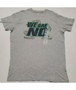 NWT Notre Dame Fighting Irish Men's Gray Pro Edge T-Shirt Large New With... - $14.84