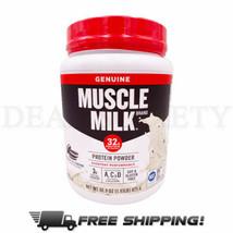 Muscle MilkLeanMuscleCOOKIESNCREAM Flavor 32g Protein Powder - 1.93 lbs ... - $19.78