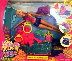 You Can Be Anything Barbie Dolphin Magic NIB  - $18.14