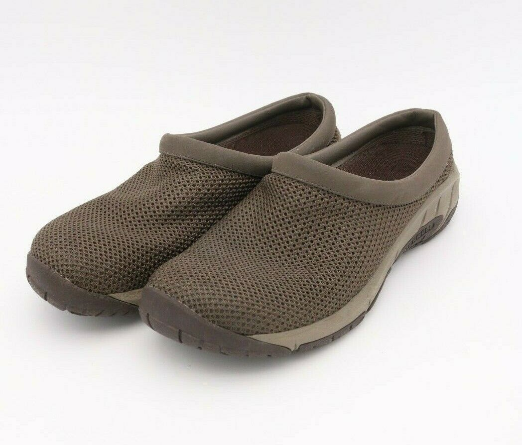 Primary image for Merrell Select Fresh Air Cushion Mules Clogs Gray Mesh Women's Size 11