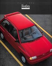 1992 Ford FESTIVA sales brochure catalog 92 US L GL - $9.00